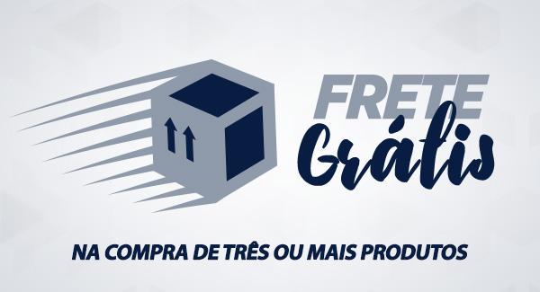 Enviamos para todo Brasil com frete grátis para compras acima três ou mais produtos
